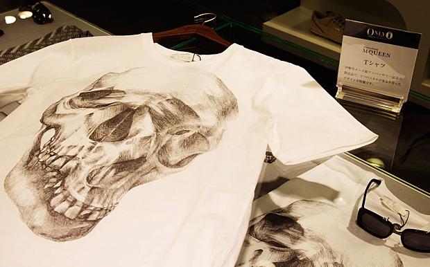 """Alexander McQueen """"Double Skull"""" T-shirt"""