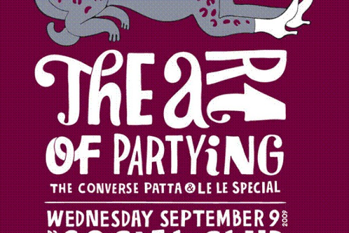 The Art of Partying - The Converse x Patta x Le Le Special