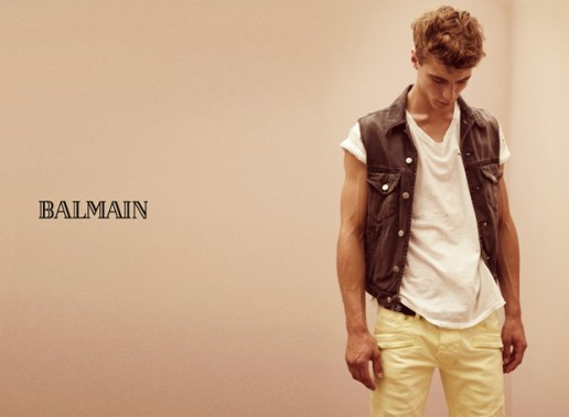 Balmain Homme 2010 Spring Ad Campaign