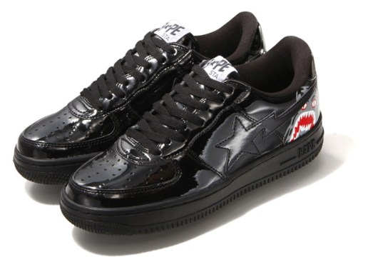 "A Bathing Ape Bapesta ""Black Tiger"""