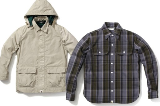 "A Bathing Ape ""Bape Check"" Items"
