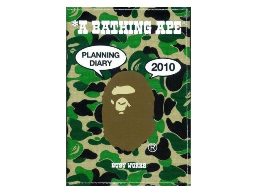 A Bathing Ape Daily Planner