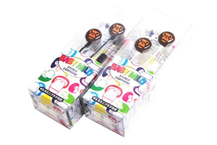 "A Bathing Ape ""Milo"" Earphones"