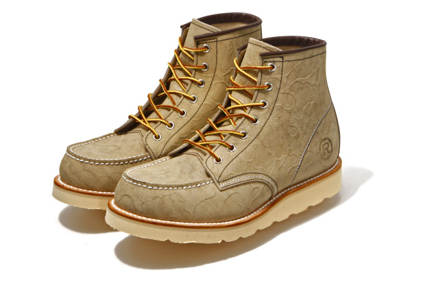 A Bathing Ape Simple Soldier Boots
