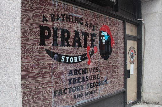 A Bathing Ape Pirate Store Opening NYC