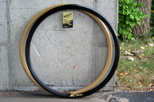 Benny Gold for Velocity Bike Rim