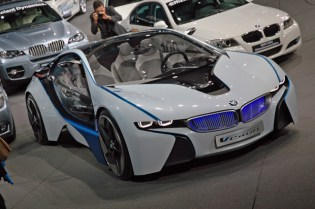 BMW EfficientDynamics Concept Car