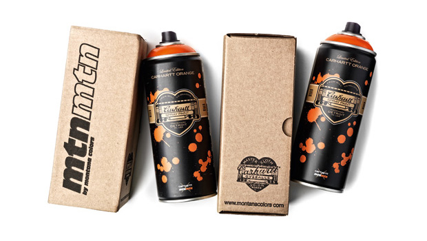 Carhartt x Montana Colors Limited Edition Spray Can