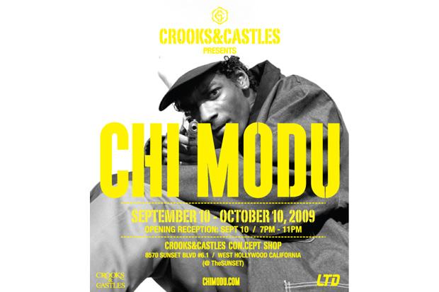Crooks & Castles x Chi Modu Exhibition