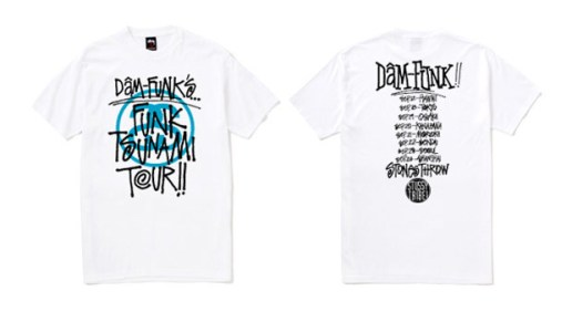 Dam-Funk x Stussy: The Funk Tsunami Tour in Asia