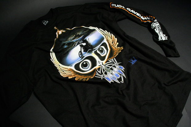 "David Mann x FUCT ""American Outlaw"" T-Shirt Series"