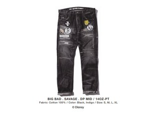 Disney x NEIGHBORHOOD BIG BAD SAVAGE DENIM