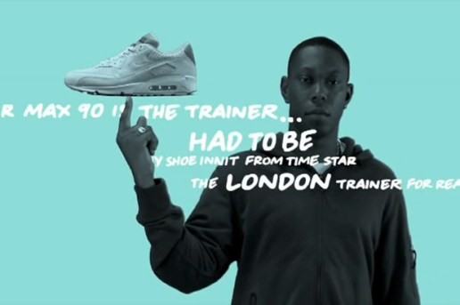 "Dizzee Rascal x Ben Drury x Nike ""Tongue N Cheek"" Air Max 90 Video"