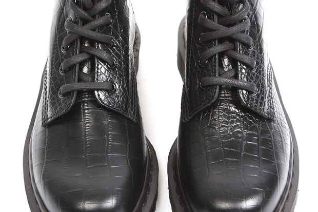 Dr. Martens Croc Leather Boots