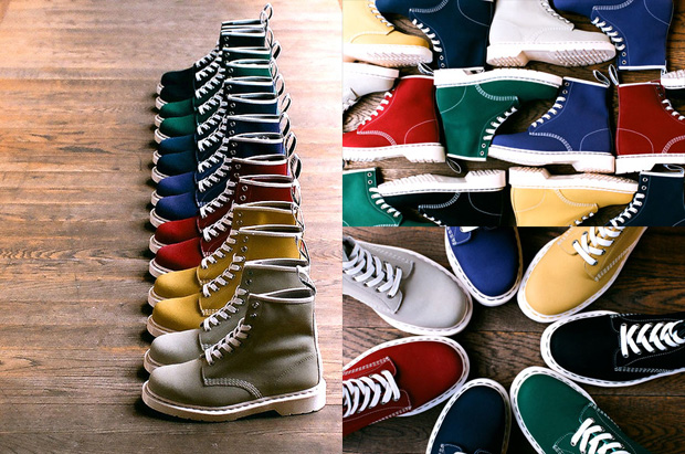 Dr. Martens 2010 Spring Footwear Preview