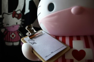 "Dr. Romanelli x Medicom Toy x Hello Kitty ""Candy Striper"" Toy"