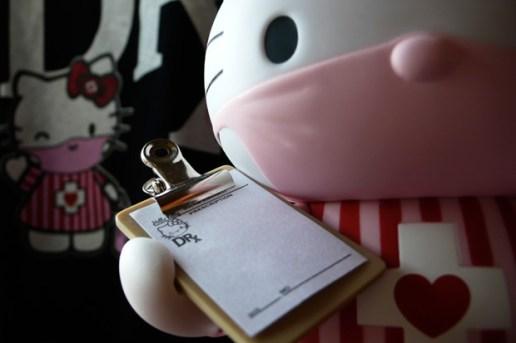 "Dr. Romanelli x Medicom Toy x Hello Kitty ""Candy Striper"" Toy"