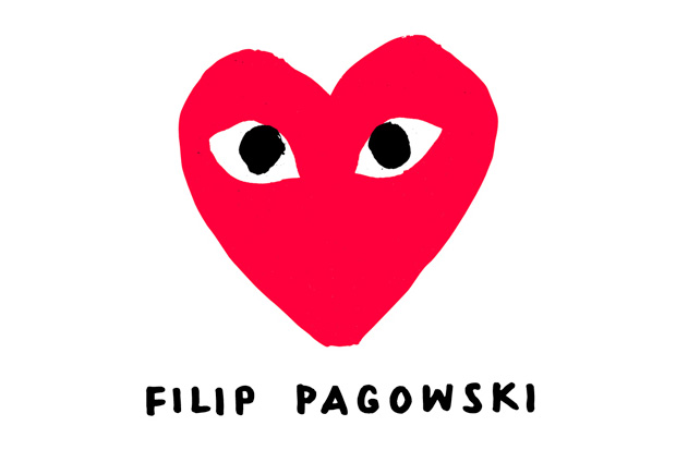 Edwin Himself: Interview with Filip Pagowski - Creator of the COMME des GARCONS PLAY Logo