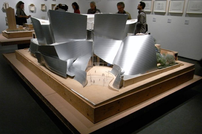 """Frank O. Gehry """"Since 1997"""" Exhibition Milan"""
