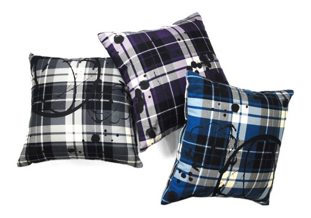 Futura Laboratories Flannel Plaid Cushion