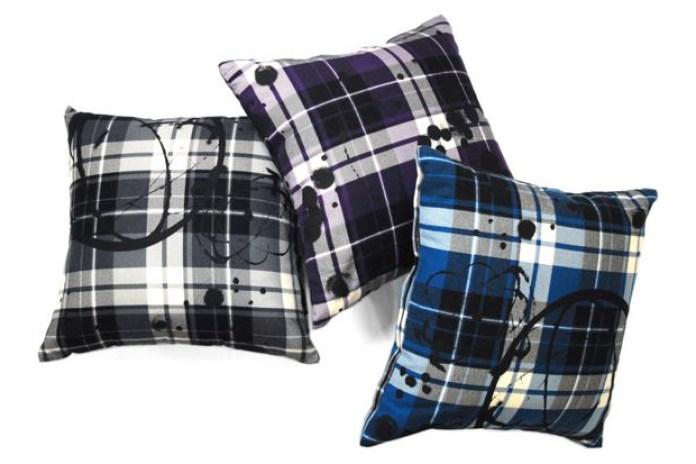Futura Laboratories Flannel Plaid Cushion