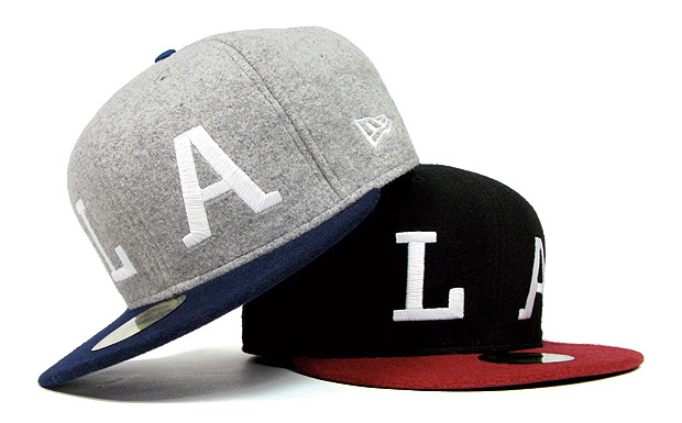 "HUF ""LA"" Exclusive New Era Caps"