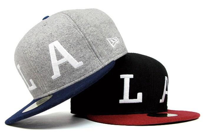 """HUF """"LA"""" Exclusive New Era Caps"""