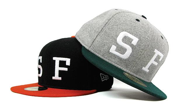 "HUF ""SF"" Exclusive New Era Caps"
