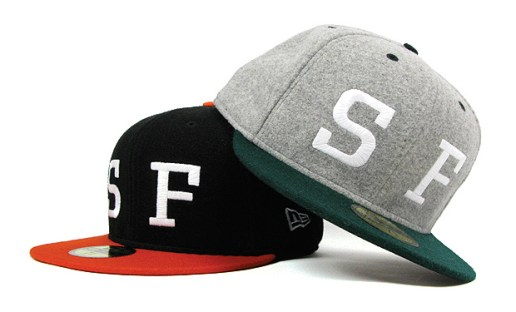 "HUF ""SF"" Exclusive New Era Caps"