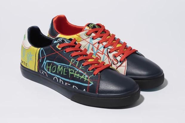 Jean-Michel Basquiat x Reebok NPC Clean