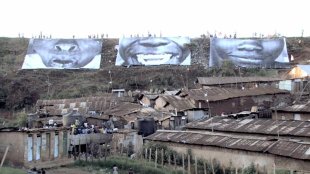"""JR """"Women Are Heroes"""" Video (Kenya)"""