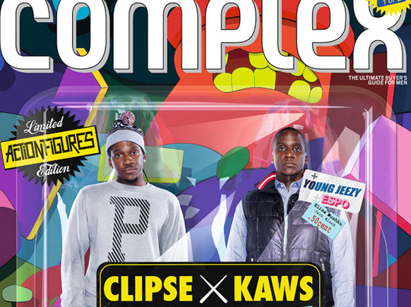 Complex Magazine: Clipse x KAWS 2009 October/November Issue