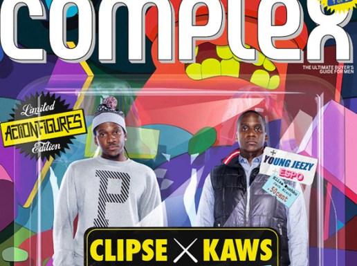 Complex Magazine: Clipse x KAWS 2009 October/November Issue