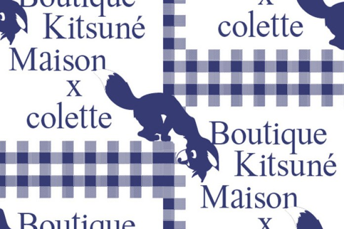 Kitsuné Maison Pop-up at colette