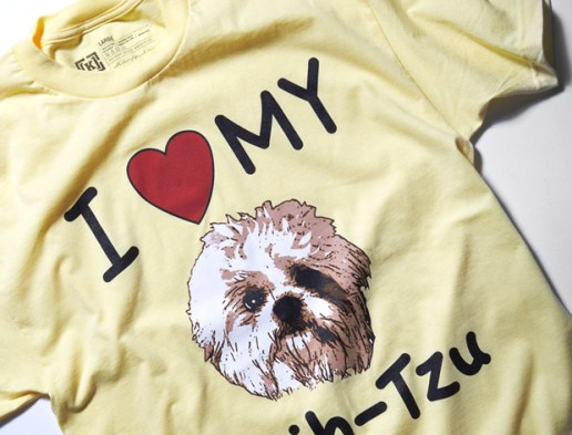 "LOST x KR3W ""I Heart My Shih-Tzu"" T-Shirt"