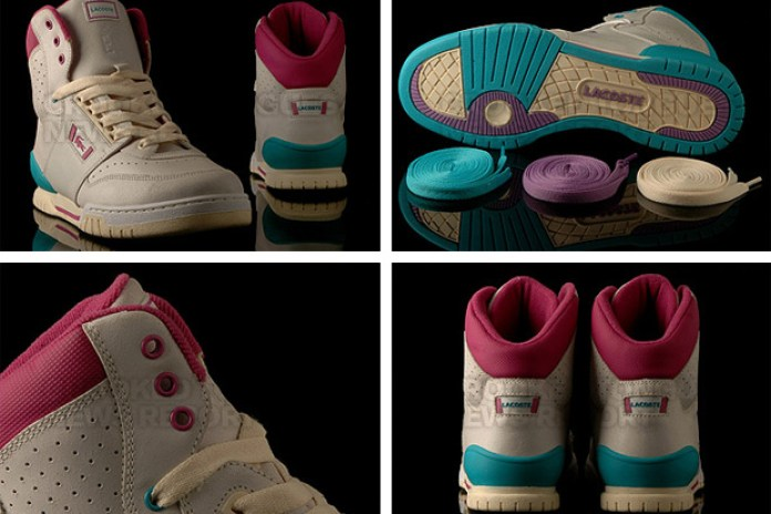 LimitEDitions x Lacoste Stealth Indiana Highs