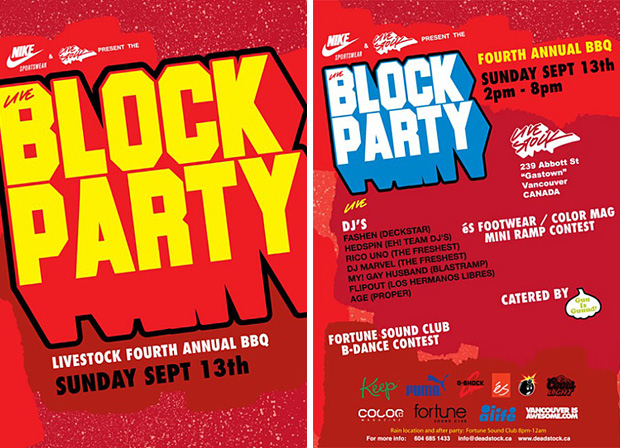 Live Block Party - Fourth Annual BBQ