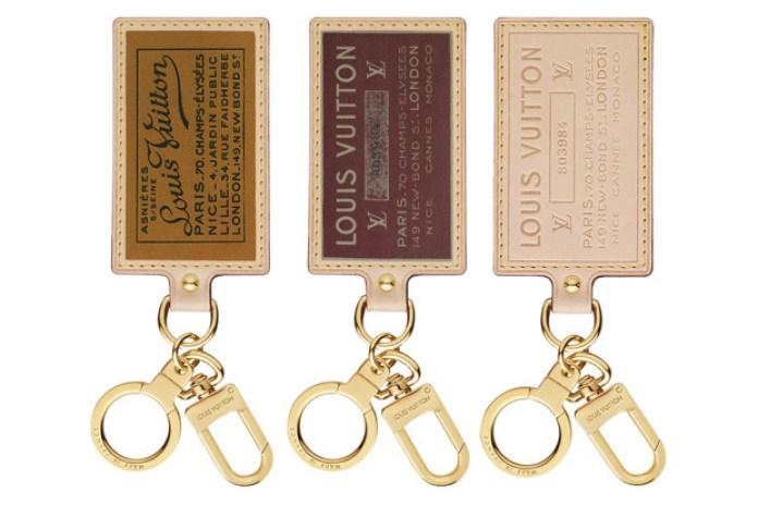 Louis Vuitton Labels Key Rings