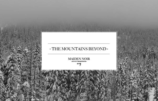 """Maiden Noir 2009 Fall """"The Mountains Beyond"""" Collection"""