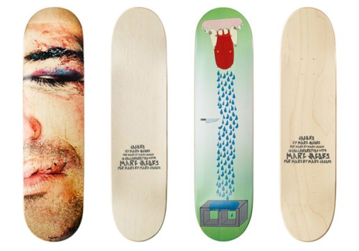 Marc by Marc Jacobs Skate Decks