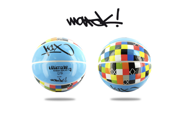 "Marok x K1X 4 Elements 4 Icons 4 Basketballs ""Water"" Basketball"