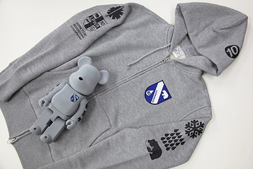 Medicom Toy x Loopwheeler Bearbrick and Fleece Set