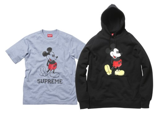 Mickey Mouse x Supreme Collection