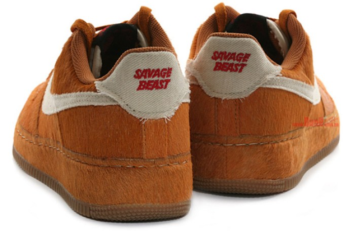 "Nike Air Force 1 ""Savage Beast"" - A Closer Look"