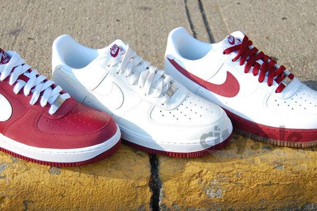 Nike Air Force 1 Team Red Pack