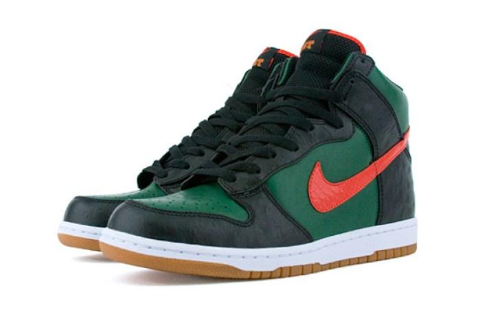 Nike Dunk Hi Supreme East