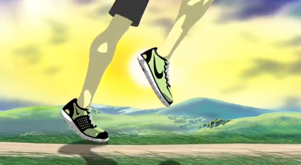Nike Free Run Supernatural Animated Video