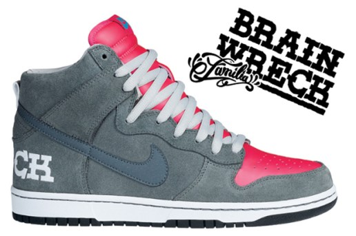 "Nike SB ""Brain Wreck"" Dunk Hi"