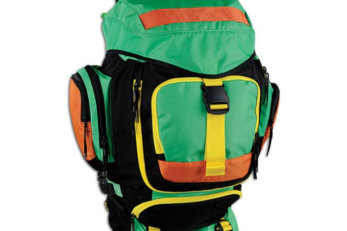 Nike SB Eugene Backpack Black/Green/Yellow