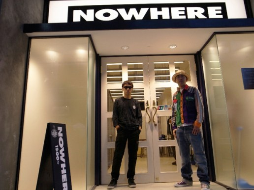 NOWHERE Hong Kong Opening